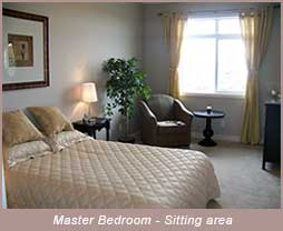 Master Bedroom - Senior Housing High River, AB